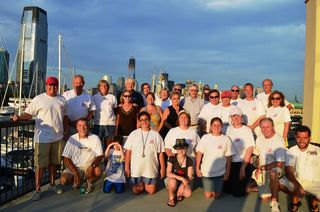 Group shot Liberty Landing Marina 7512